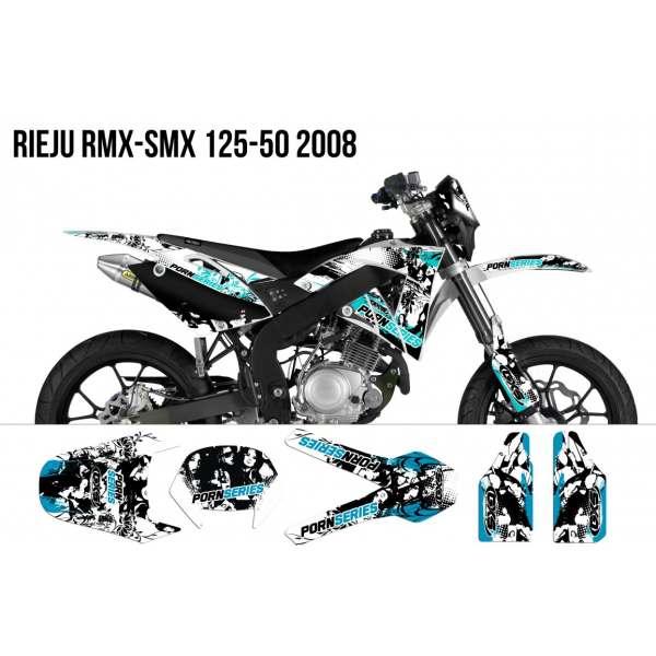 kit Déco Rieju RMX-SMX 125-50 PORNSERIES