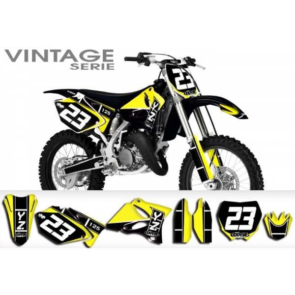 Kit Déco Yamaha YZ125/250 VINTAGE