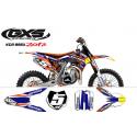 Kit Déco KTM 85 SX 2013-2014-2015 GXS Réplica 2014