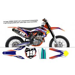 Kit déco KTM SX/SX-F 2013-2014 GXS REPLICA 2014