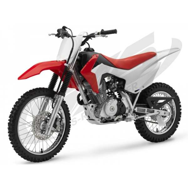 Kit Déco 100% Perso Honda 125 CRF 2013-2014