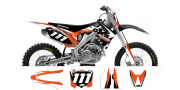 Kit déco Honda CRF250-450 2009-2012 TEAM GXS