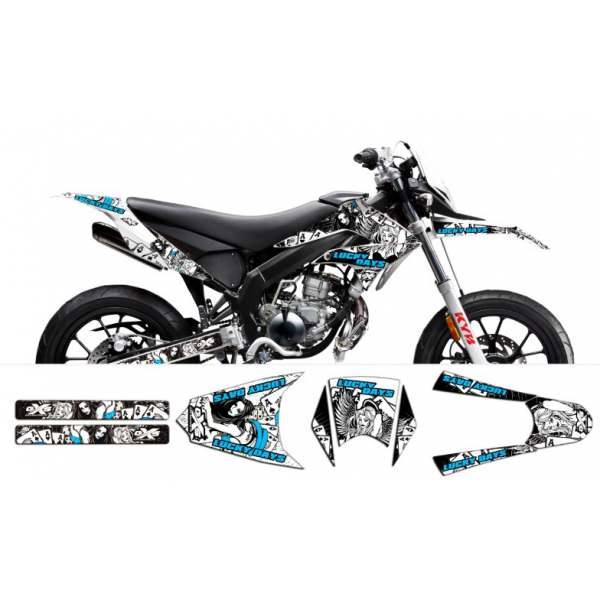 kit Déco Derbi / Gilera SMT LUCKY DAYS
