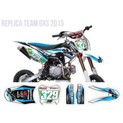 Kit Déco Pitsterpro LXR F Replica GXS Cyan