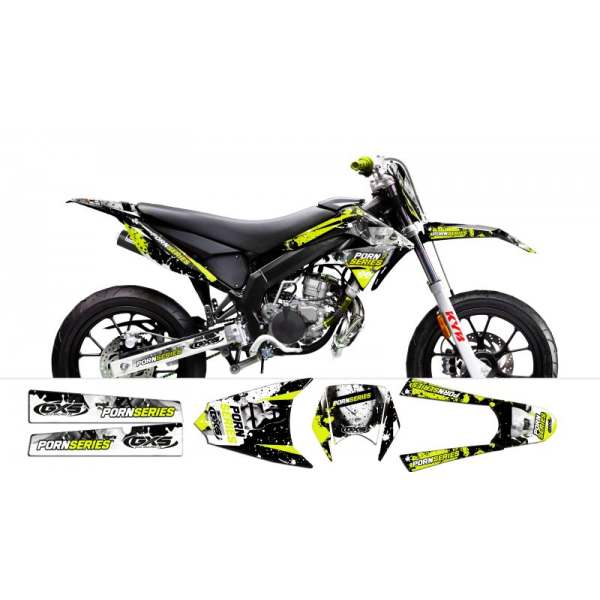 Kit Déco PORNSERIES V2 Derbi DRD X-Treme 2011-2013 / GILERA