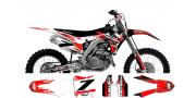 Kit déco Honda 250-450 CRF 2014 Flaming