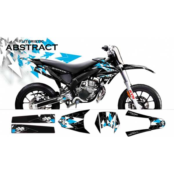 Kit Déco Derbi DRD X-Treme / GILERA 2011-2013 ABSTRACT