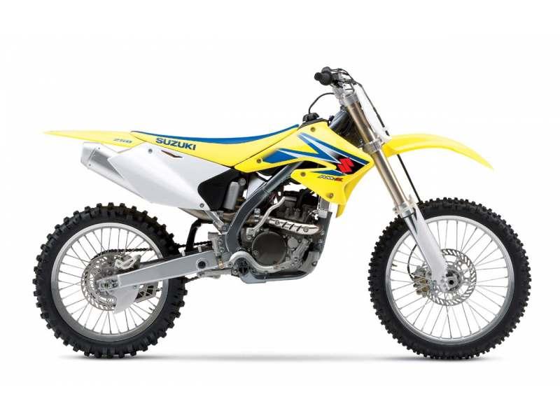 Kit Déco Suzuki RMZ 250 2004-2006 100% Perso