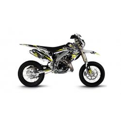 Kit Déco HM 50cc 2007-2012 Pornseries V2 Jaune