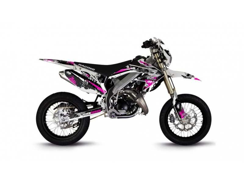Kit Déco HM 50cc 2007-2012 Pornseries V2 Magenta