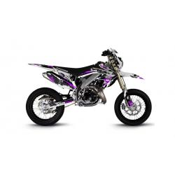 Kit Déco HM 50cc 2007-2012 Pornseries V2 Violet