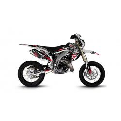 Kit Déco HM 50cc 2007-2012 Pornseries V2 Rouge