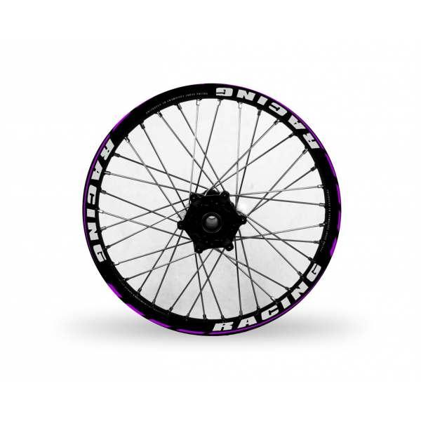 Kit Déco de jantes Soft Racing V4 Violet