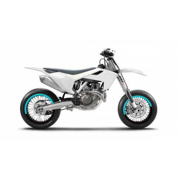 Kit Déco de jantes SM FACTION V5 SUPERMOTARD Cyan