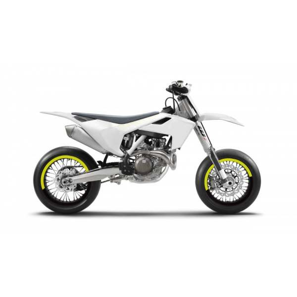 Kit Déco de jantes SM FACTION V5 SUPERMOTARD Jaune