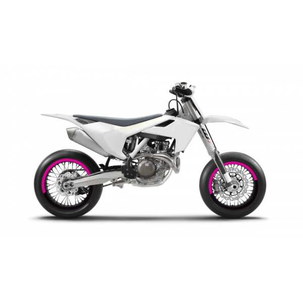 Kit Déco de jantes SM FACTION V5 SUPERMOTARD Magenta