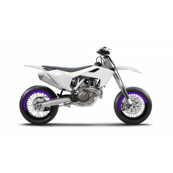 Kit Déco de jantes SM FACTION V5 SUPERMOTARD Violet