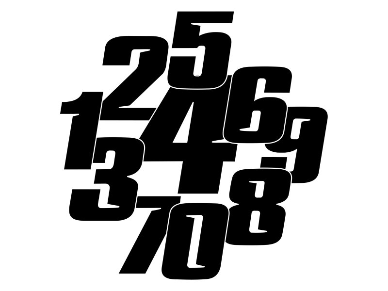 Numéros de Course Perso Stickers