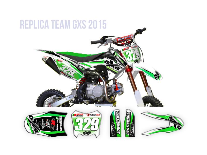 Pitsterpro LXR F Replica Vert