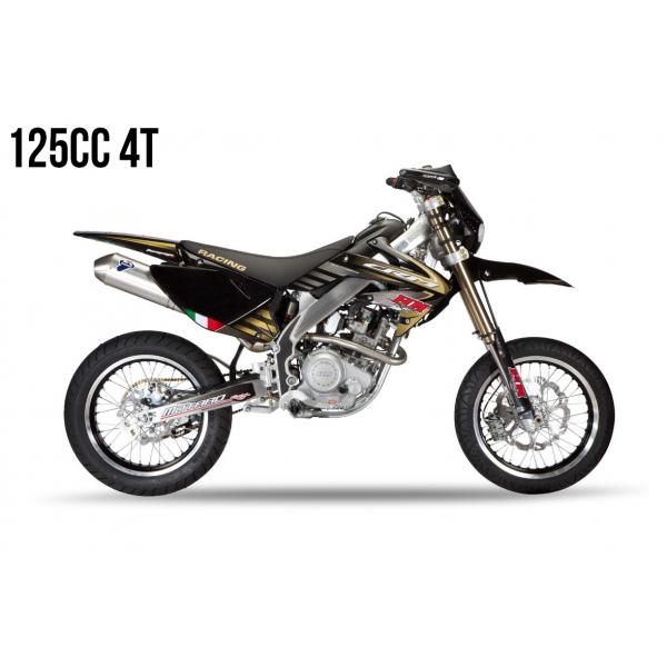 Kit Déco HM 125 4T 2011 100% Perso Kit déco HM