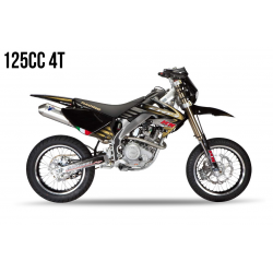 Kit Déco HM 125 4T 2011 100% Perso