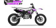 Kit Déco Yamaha DT50 Pornseries v1 Violet