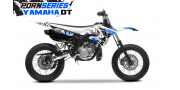 Kit Déco Yamaha DT50 Pornseries v1 Bleu