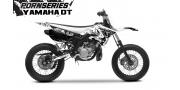 Kit Déco Yamaha DT50 Pornseries v1 Noir