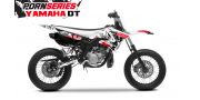 Kit Déco Yamaha DT50 Pornseries v1 Rouge