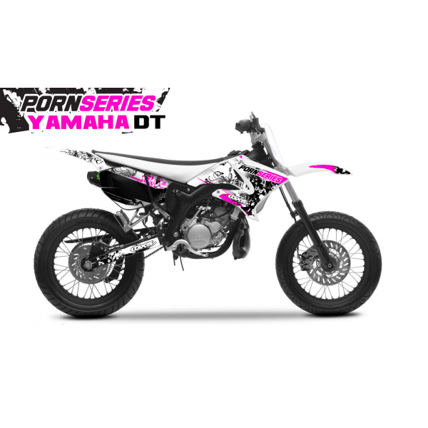 Kit Déco Yamaha DT50 Pornseries v1 Magenta