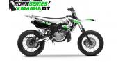 Kit Déco Yamaha DT50 Pornseries v1 Vert