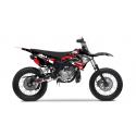 Kit Déco Yamaha DT50 PORNSERIES V2 2004-2018 ROUGE