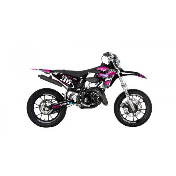 Kit déco Dam-Sport Racing Sherco SE 50cc 2014