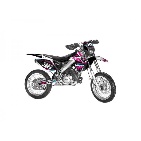 Kit déco Dam-Sport Racing HM 50 CRM Derapage 2002-2005