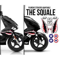 Planche Stickers Adaptable THE SQUALE