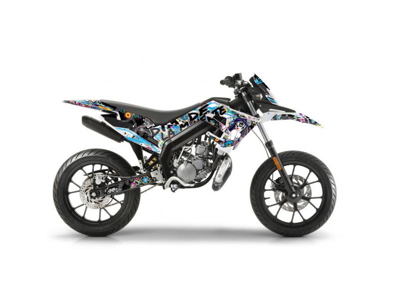 Kit Déco DERBI DRD Racing 2019 MUERTE