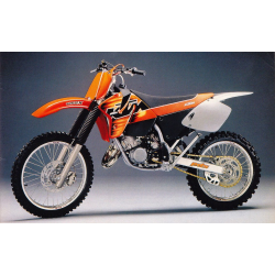Kit Déco KTM SX 1997-2000 100% Perso