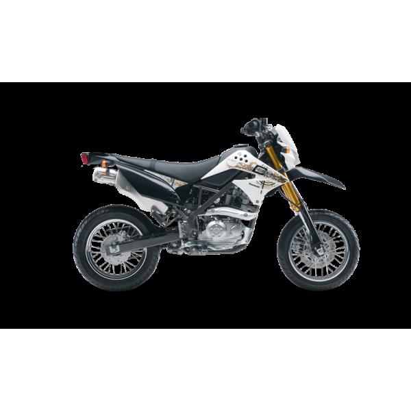 Kit Déco Kawasaki D-TRACKER 125 100% Perso Kit déco KAWASAKI