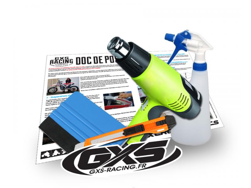 Service pose de kit déco Perso ou standard Accessoires de pose stickers