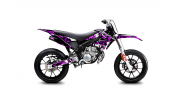 Kit Déco Derbi DRD X-Treme 11-17 GILERA DIGITAL PORN Violet