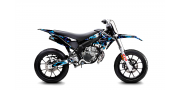 Kit Déco Derbi DRD X-Treme 11-17 GILERA DIGITAL PORN Cyan