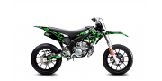 Kit Déco Derbi DRD X-Treme 11-17 GILERA DIGITAL PORN Vert