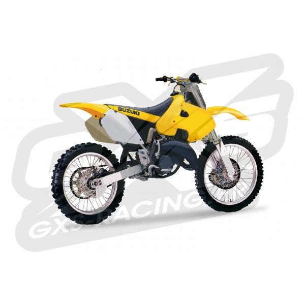 Kit Déco Suzuki 125 250 RM 1999-2000 100% Perso Kit déco SUZUKI