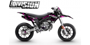 Kit Déco DERBI DRD RACING 2011-2017 THE DIVISION Rose