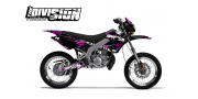 Kit Déco Derbi X-RACE 03-07 THE DIVISION Violet