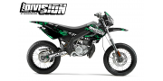 Kit Déco Derbi X-treme 05-09 THE DIVISION Petro