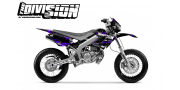 Kit DÉCO DERBI DRD RACING 2004-2009 THE DIVISION Violet