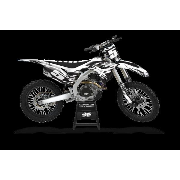 Kit Déco Honda 250 2018-2021 450 2017-2020 CRF CR EDIT Kit Déco Honda Standard
