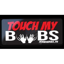 Sticker touch my boobs