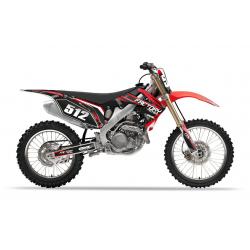 Kit déco Honda 250-450 CRF Factory Team Dash